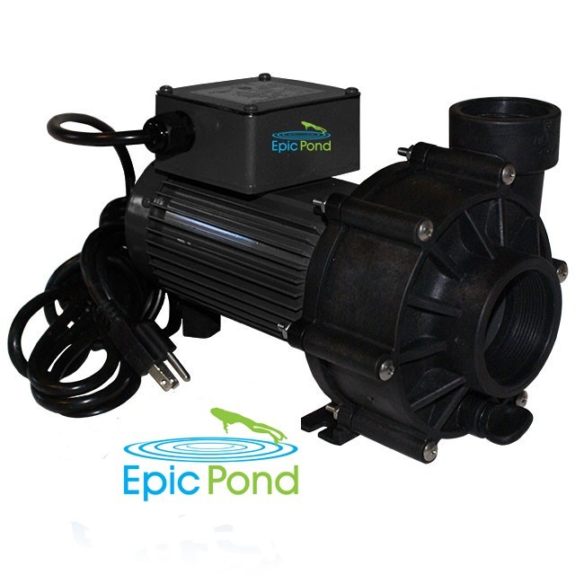 Epic Pond EpicFlo Series 1/12 HP 178 Watt External Pump