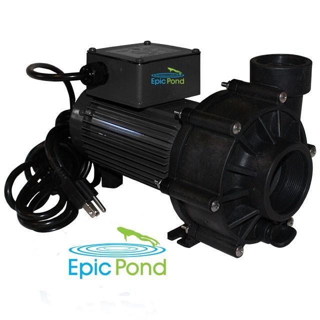 Epic Pond EpicFlo Series 1/10 HP 248 Watt External Pump