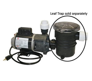 "Wlim Corp Aqua Star Pump 1/15hp OD (1-1/2"" Inlet & Outlet)"