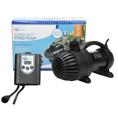 Aquascape AquaSurge PRO 2000-4000 Adjustable Flow Pump