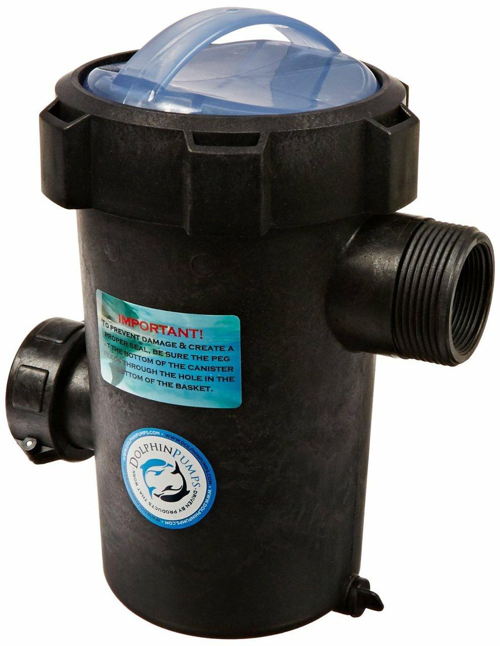 Dolphin Pumps EZ Priming Pot - 1.5 inch