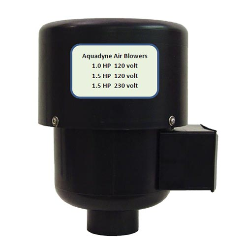 AquaDyne 1 HP Replacement Blower for AD1000 Filter