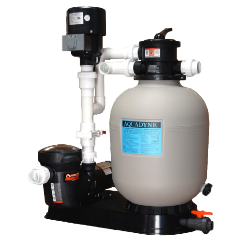AquaDyne Ecosphere Pond Filtration Systems