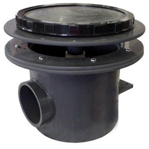 AquaDyne Rhino II Bottom Drain - 4 inch with Air Bladder Diffuser - 4 inch