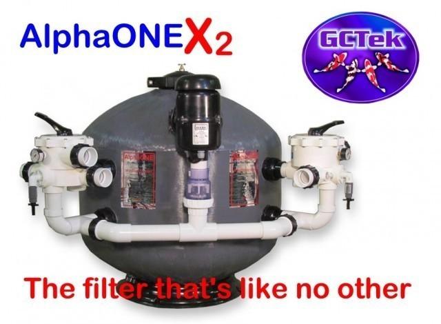 GCTek AquaBead X2 Low Head 6.0 Pond Filter