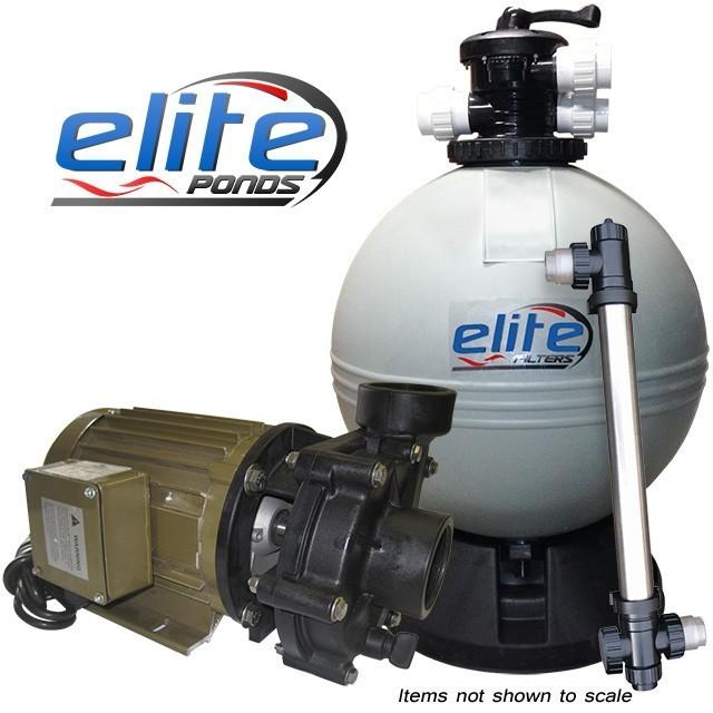 Elite Pumps Optimus III 6000 Filter Pump UV Package