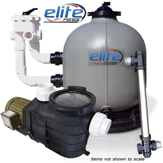 Elite Pumps Optimus III 8000 Filter Pump UV Package