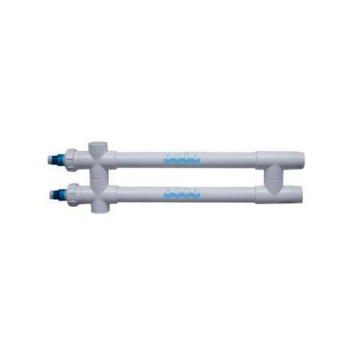 "Aqua Ultraviolet Classic 80 Watt UV Sterilizer 3"" White 2/L 2-Inline Transformers 120V/60Hz"