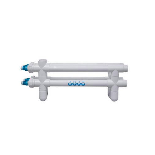 "Aqua Ultraviolet Classic 160 Watt UV Sterilizer 2"" White Wiper 4/L Inline Transformer 120V/60Hz"