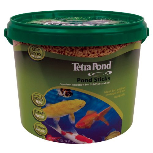 Tetra Pond Food Sticks - Floating - 2.53 lbs.