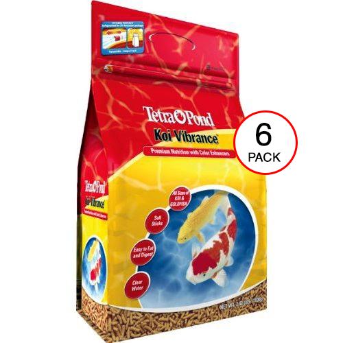 Tetra Pond Koi Vibrance - 2.42 lbs. (6 Pack)