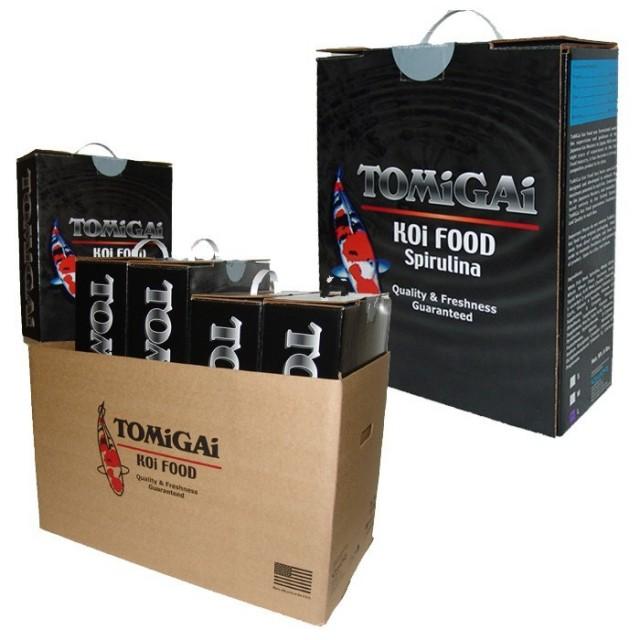 TOMiGAi Spirulina Koi Fish Food - 12 lbs. (2 x 6 lbs.)