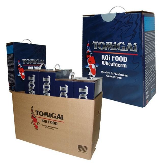TOMiGAi Wheat Germ Koi Fish Food - 12 lbs. (2 x 6 lbs.)
