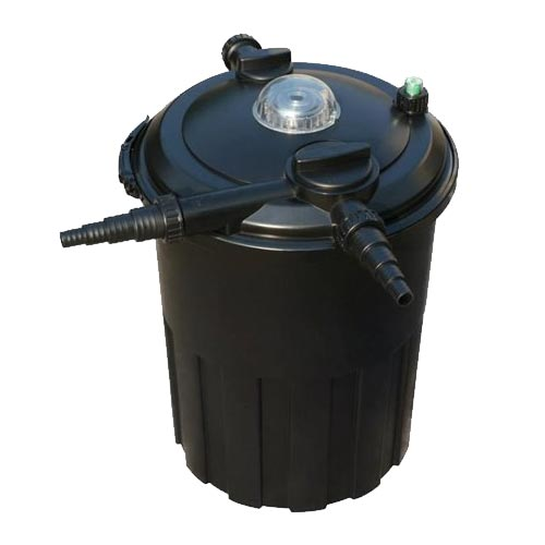Anjon LivingPonds 3000 Pressure Filter w/Mats & Bio-Balls