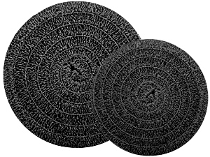 """Matala Black Roll Filter Media - 17"""" Diameter"""