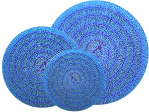 """Matala Blue Roll Filter Media - 18"""" Diameter"""