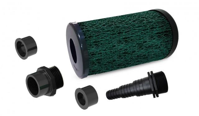 Matala EZ-Bio 11 Pre Filter Single Core (Coarse Green Mesh) + Magic Adaptor