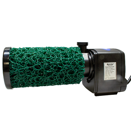 Matala Magna-Flow 1100 GPH Pump with EZ Bio 11 Plus Prefilter