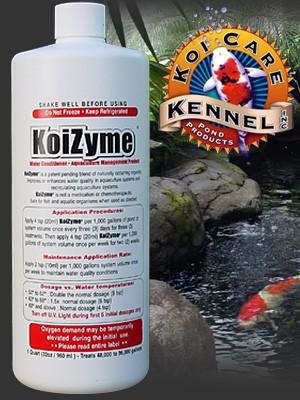 Koi Care Kennel KoiZyme - 1 Pint (16 oz.)