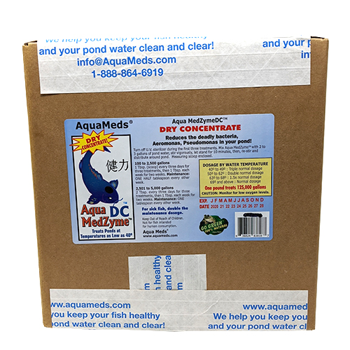 Aqua Meds MedZyme DC Dry Concentrate - 24 lbs.