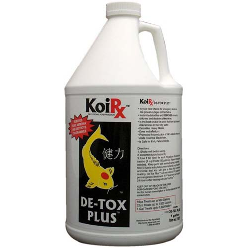 Aqua Meds De-Tox Plus - 1 Gallon (128 oz.)