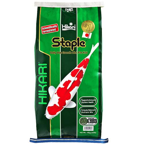 Hikari Staple Koi Fish Food - 22 lbs.(Large Pellets)