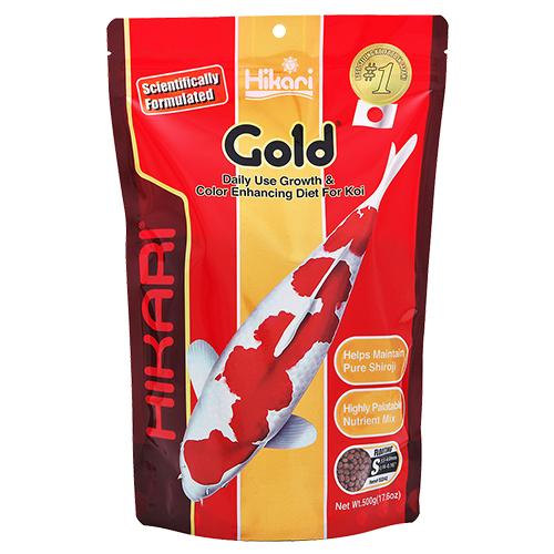 Hikari Gold Koi Fish Food - 17.6 oz. (Medium Pellets)