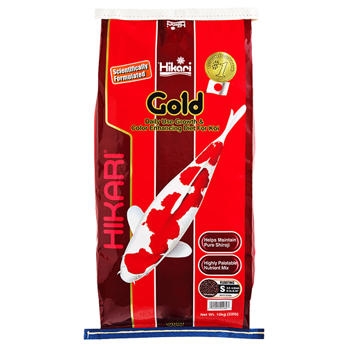 Hikari Gold Koi Fish Food - 22 lbs. (Medium Pellets)