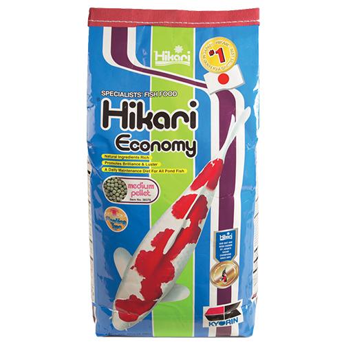 Hikari Economy Koi Fish Food - 8.8 lbs. (Medium Pellets)