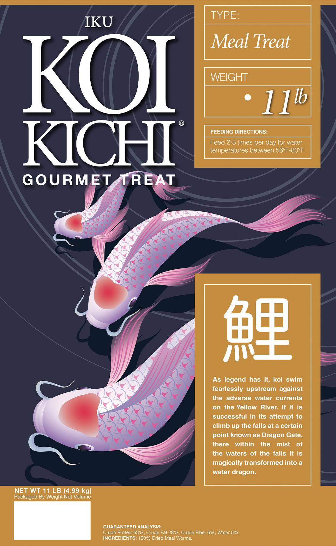 Iku Koi Kichi Gourmet Meal Treat Koi Fish Food - 11 lbs.