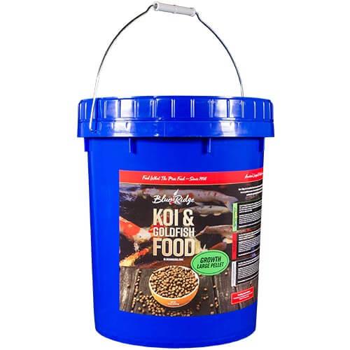 Blue Ridge Growth Koi Fish Food - 14 lbs. (Large Pellet)