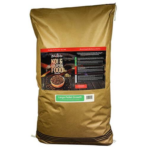 Blue Ridge Growth Koi Fish Food - 50 lbs. (Large Pellet)