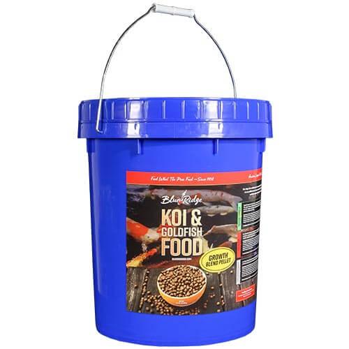 Blue Ridge Blend Koi Fish Food - 14 lbs. (Large & Mini Pellet Mix)