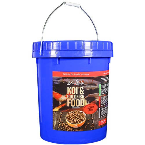 Blue Ridge Color Rich Koi Fish Food - 14 lbs. (Large Pellet)