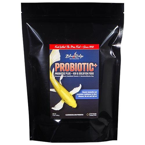 Blue Ridge Probiotic Plus Koi Fish Food  - 2 lbs. (Large Pellet)