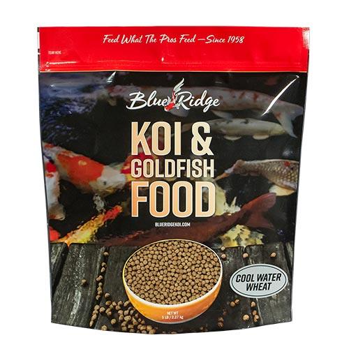 Blue Ridge Cool Water Koi Fish Food  - 5 lbs. (Large Pellet)