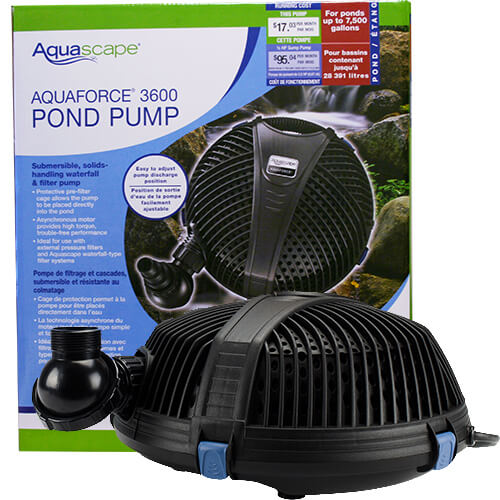 Aquascape AquaForce 3600 Pump